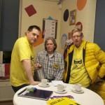 v.l.n.r. Dirk, John en Sjaak