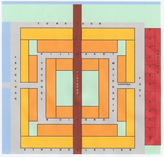 BSD plattegrond